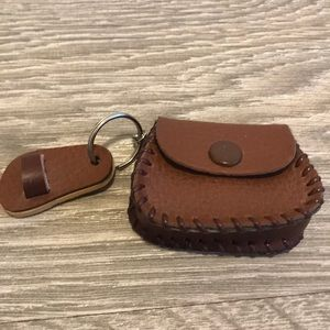 $3 Add-On Tiny Coin Pouch Keychain